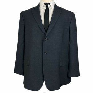Brooks Brothers 346 Sport Coat 50R Stretch Gray